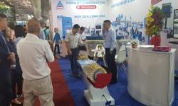 Máy chế biến gỗ Hồng Ký thu hút nhiều sự quan tâm của khách hàng tại Hội chợ VIFA - EXPO 2019
