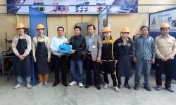 Thêm 3 trường cao đẳng nghề khu vực miền Trung nhận tài trợ buồng hàn và máy hàn điện tử Hồng Ký