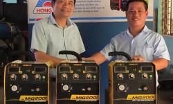 Trường Cao đẳng nghề Công nghiệp Hải Phòng nhận tài trợ máy hàn MIG Hồng Ký