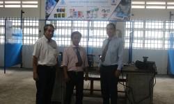Gói tài trợ 5 máy hàn điện tử Hồng Ký về với thầy trò trường Cao đẳng Nghề Vĩnh Long
