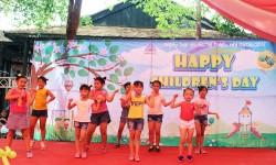 Tưng bừng Ngày hội Quốc tế Thiếu nhi 1 - 6 cho con cán bộ công nhân viên công ty Hồng Ký