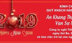 Hồng Ký thông báo nghỉ tết Dương lịch 2019