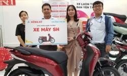 Hồng Ký trao thưởng xe SH cho Đại Lý đạt chương trình khuyến mãi 3 tháng