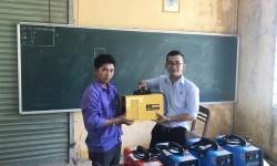 Thêm 5 máy hàn điện tử Hồng Ký về với trường Cao đẳng Nghề Bình Thuận