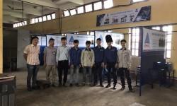 Hồng Ký tài trợ máy hàn cho trường Cao đẳng Nghề Kinh tế - Kỹ thuật Bắc Ninh