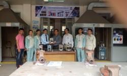 Trường Cao đẳng Nghề Công nghiệp Hà Nội đón nhận tài trợ máy hàn điện tử từ công ty Cơ khí Hồng Ký
