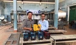 Thêm 5 máy hàn điện tử Hồng Ký về với thầy trò trường Cao đẳng Nghề Cơ giới Quảng Ngãi