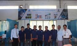 Hồng Ký tại trợ máy hàn điện tử và buồng hàn cho trường Cao đẳng nghề Cần Thơ