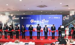 Hồng Ký ra mắt máy hàn dòng Pro tại Vimaf & Vsif