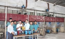 Trường Cao đẳng Nghề Đồng Nai tiếp nhận tài trợ từ công ty Hồng Ký