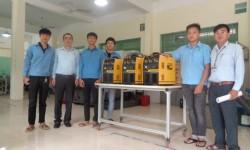 Cao đẳng Nghề Đà Nẵng đón nhận máy hàn công nghiệp tài trợ từ HỒNG KÝ