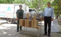 Trường Cao đẳng Nghề Số 5 đón nhận tài trợ máy hàn công nghiệp từ HỒNG KÝ