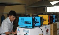 Cao đẳng Nghề Công nghệ và Nông lâm Nam Bộ tp Bình Dương - Trường thứ 10 được Hồng Ký trao tài trợ máy hàn