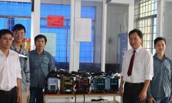 Cao đẳng Nghề Bà Rịa - Vũng Tàu - trường thứ 11 nhận tài trợ máy hàn điện tử Hồng Ký