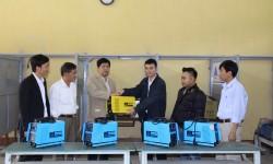 Thêm 5 máy hàn Hồng Ký được trao tặng cho trường Cao đẳng Nghề Hòa Bình