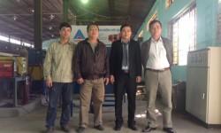 Hồng Ký tài trợ máy hàn và buồng hàn cho trường Cao đẳng Nghề Công nghiệp Hải Phòng
