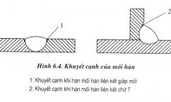 Kỹ thuật hàn: Lỗi khuyết cạnh mối hàn, nguyên nhân và cách khắc phục