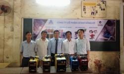Gói tài trợ 5 máy hàn điện tử Hồng Ký về với thầy trò trường Cao đẳng Nghề Công nghiệp Nam Định