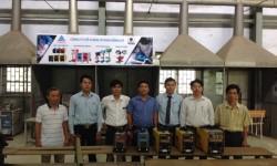 Trường Cao đẳng Nghề Phú Thọ đón đại diện Công ty Cơ khí về thăm và trao tài trợ máy hàn điện tử