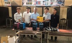 Trường Cao đẳng Nghề Phú Yên tiếp nhận tài trợ máy hàn điện tử Hồng Ký