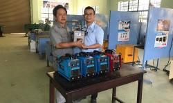 Trường Cao đẳng Nghề Quảng Nam tiếp nhận tài trợ máy hàn điện tử Hồng Ký