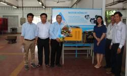 Trường Đại học Sư phạm Kỹ thuật TP Hồ Chí Minh tiếp nhận tài trợ lần hai từ công ty Cơ khí Hồng Ký